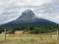 Mountain in Alberta Plains