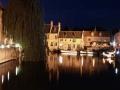 Brugge Canal Night