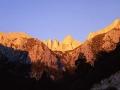 Mt Whitney At Sunrise