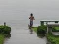 Boy Playing in Tortuguero River - zcosta ricaIMG_6110
