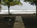 Walkway From Resort To Caribbean - zcosta ricaIMG_6151
