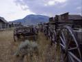 Ghost Town Cody Wyoming