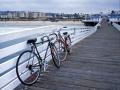 Bikes on Crystal Pier