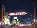 San Diego Hillcrest At Night