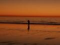 Couple At Sunset Torrey Pines Beach
