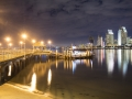 San Diego Coronado Ferry landing with downtown San Diego in background.