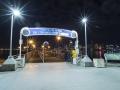 Entrance to San Diego Coronado Ferry landing in Coronado
