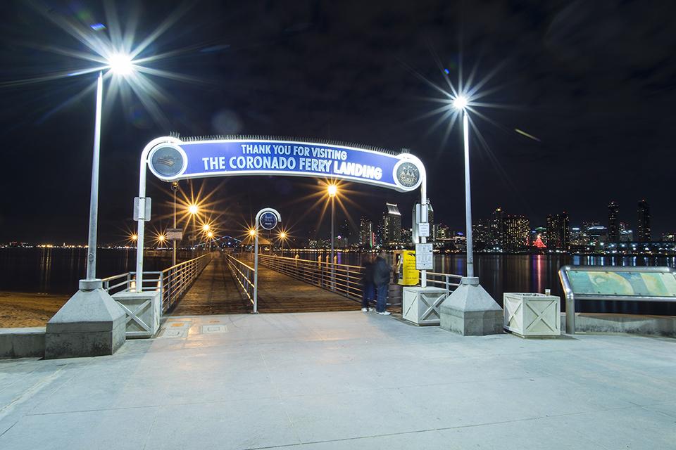 Coronado Ferry To San Diego 12-29-2016