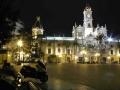 Valencia Plaza At Night