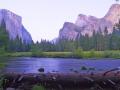 Yosemite Valley Bridelveil Falls PICT8461