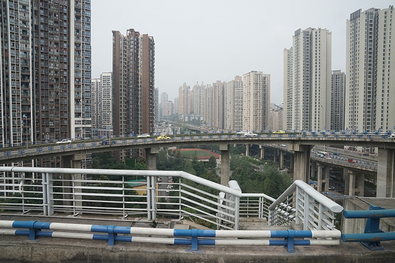 Beijing High Rise Buildings - as far as the eye can see.